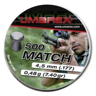 Umarex Match Pellets 4,5 mm 500 pcs.