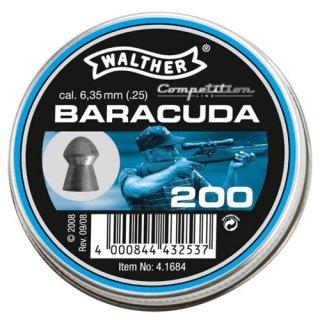Walther Baracuda Pellets 6,35 mm 200 pcs.
