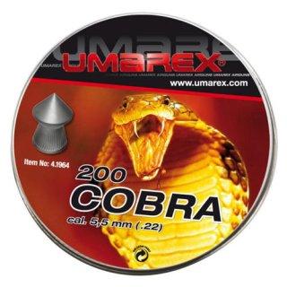 Umarex Cobra pellets 5,5 mm 200 pcs.