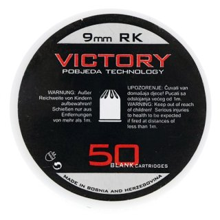 Victory blank cartridges 9 mm R.K.