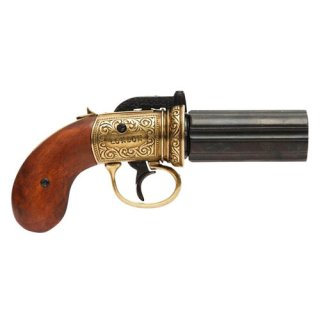 Denix Pepperbox Pistole