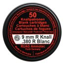Geco Blank Cartridges Black Powder 9 mm R.K.