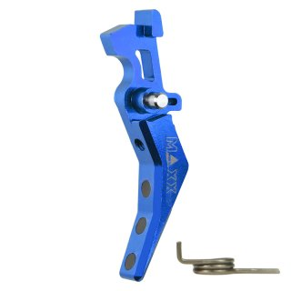 MAXX CNC Aluminum Advanced Trigger (Style B) (Blue)