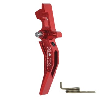 MAXX CNC Aluminum Advanced Trigger (Style C) (Red)