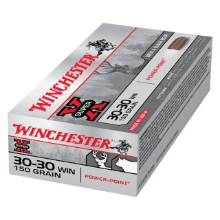 .30-30 Win. Power-Point 150grs Winchester Super-X 20 St.