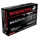 6,5mm Creedmoor Match 140grs Winchester Target 20 pcs.