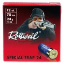 12/70 Special Trap 2,4mm 24g Rottweil 25 pcs.