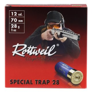12/70 Special Trap 2,4mm 28g Rottweil 25 pcs.