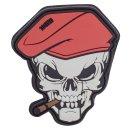 101Inc 3D Rubber Patch Cigar Skull