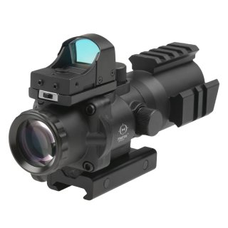 Theta Rhino 4 X 32 Scope mit Micro Red Dot