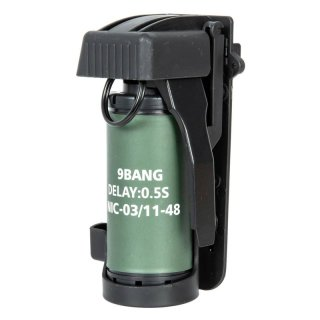 Dummy Smoke Grenade with Pouch - black