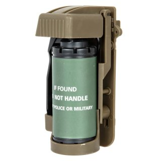 Dummy Smoke Grenade with Pouch - TAN