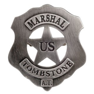 Denix US-Marshal Badge Tombstone